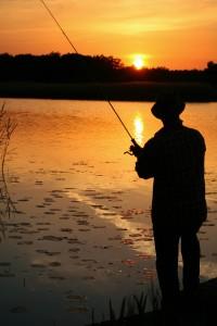 Ibland är det skönt att inte göra något också. Bara fiska och njuta.